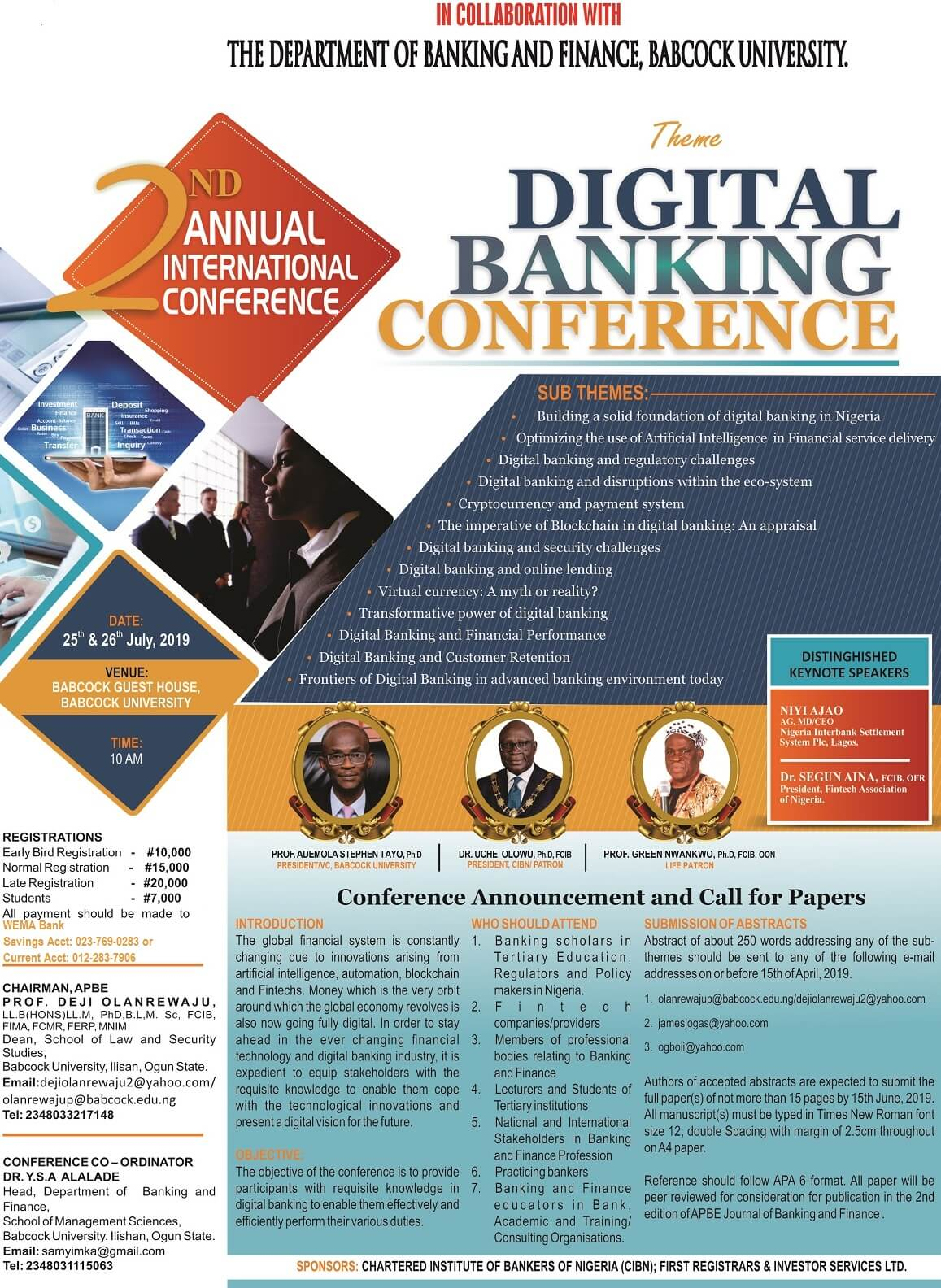 APBE 2nd Annual Conference handbill